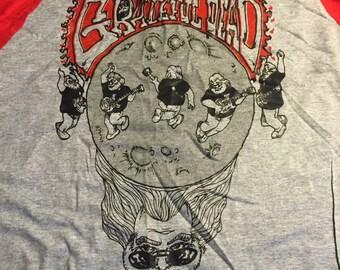 Standing On the Moon Baseball Grateful Dead Shirt
