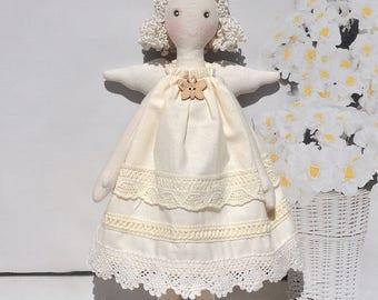 Textile doll, Tilda doll ,Princess Tilda angel,