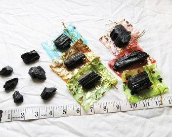 Black Tourmaline, Raw Black Tourmaline, Black Tourmaline Rough