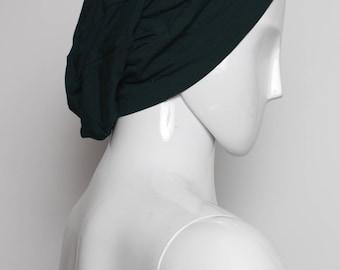 black slouch toque, festival toque, dread hat, slouchy hat, slouchy beanie, light slouch hat, summer, pixie wear, burning man, dread