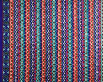 "Dressmaking Fabric, Multicolor Printed, Home Decor Fabric, Quilt Material, Sewing Fabric, 43"" Inch Cotton Fabric By The Yard ZBC7229B"