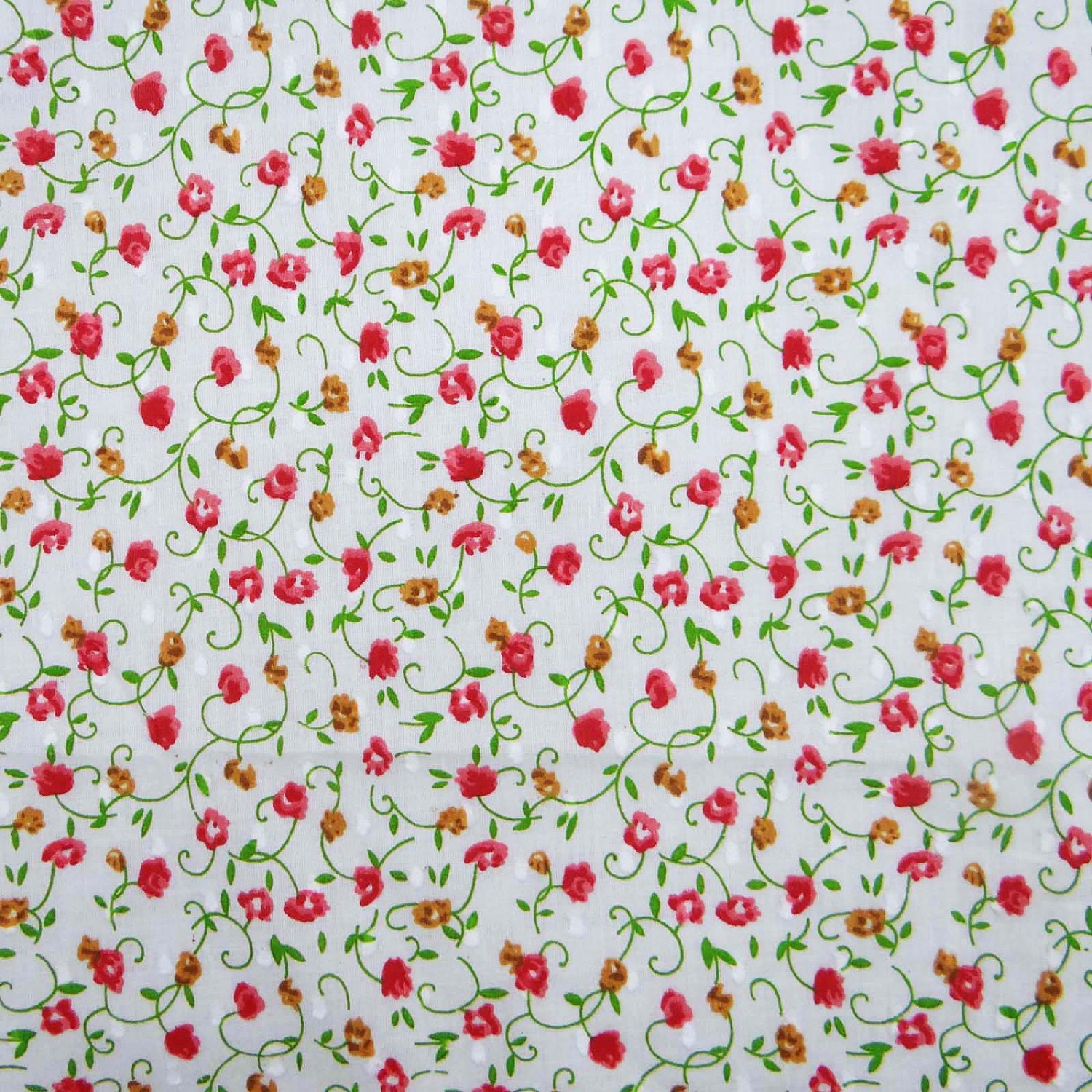 Indian Fabric Floral Print Quilting Fabric Dress