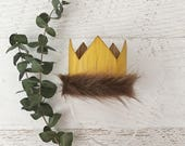 Where The Wild Things Are Crown, Birthday Party Supplies, Max Crown, Wild Rumpus Party, Wild Things Crown, 1st Birthday, Wild Things Costume