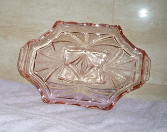 Pink Dressing Table Tray