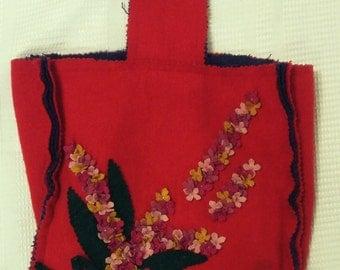 Vintage 1980's APRIL CORNELL for Cornell Trading retro inspired bag
