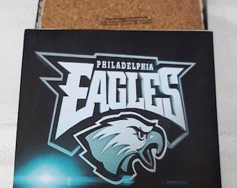 Philadelphia Eagles Ceramic Tile Drink Coasters / Set of 4