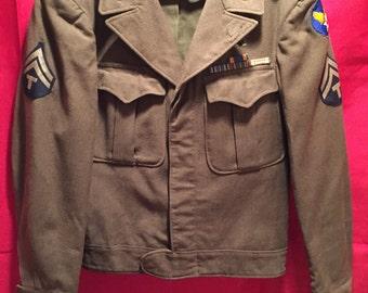 WW2 U.S Army Air Corps Ike Jacket