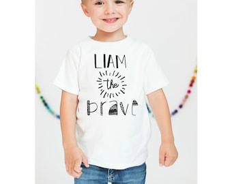 Kids Shirt. Kids Bravery Shirt. Baby Bravery Bodysuit. Custom Name Shirt. Kids Custom Shirt. Kids Name Shirt. Custom Baby. Max and Mae Kids