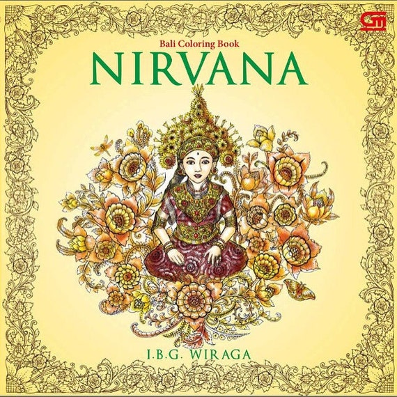 NIRVANA Coloring Book By IBG WIRAGA Bali Indonesia