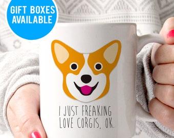 Funny Dog Mug Funny Corgi Mug Dog lover Gift Corgi Lover Gift Cute Corgi Mug