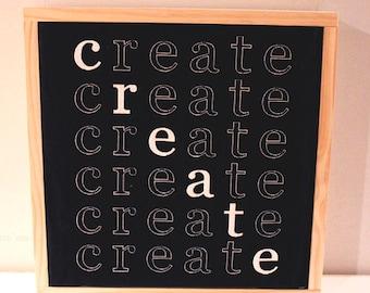 NEW! Create Square Decorative Panel