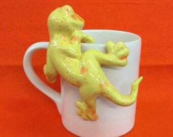 Mug Hugger - Yellow citrus splash
