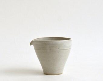 Katakuchi(white),Made to order in 2 months Koji Kitaoka (15005705-KW)
