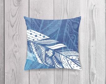 Cushion Cover ~ BLUE BLISS