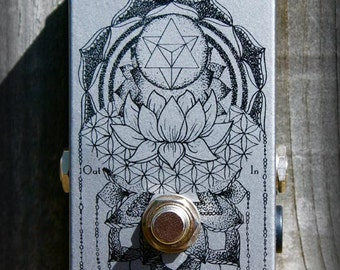 Dazatronyx EJ Fuzz tone pedal. You know the one. Hand made in Melbourne, Australia