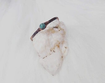 Turquoise. Adjustable ring