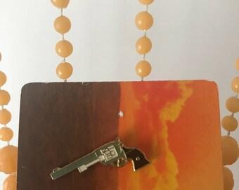 Vintage Deadstock Pistol Pin