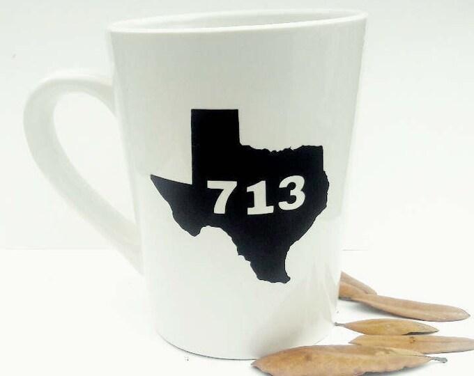 "Featured listing image: ""713"" Coffee Mug"