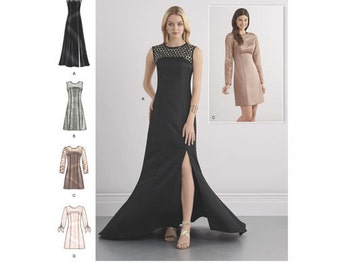 Sewing Pattern for Misses' Special Occasion Dresses and Gown,Simplicity Pattern 8257, NEW PATTERN for 2016, Plus Sizes Available