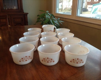 Set of 11 Corning Berry Bowls plus Bonus