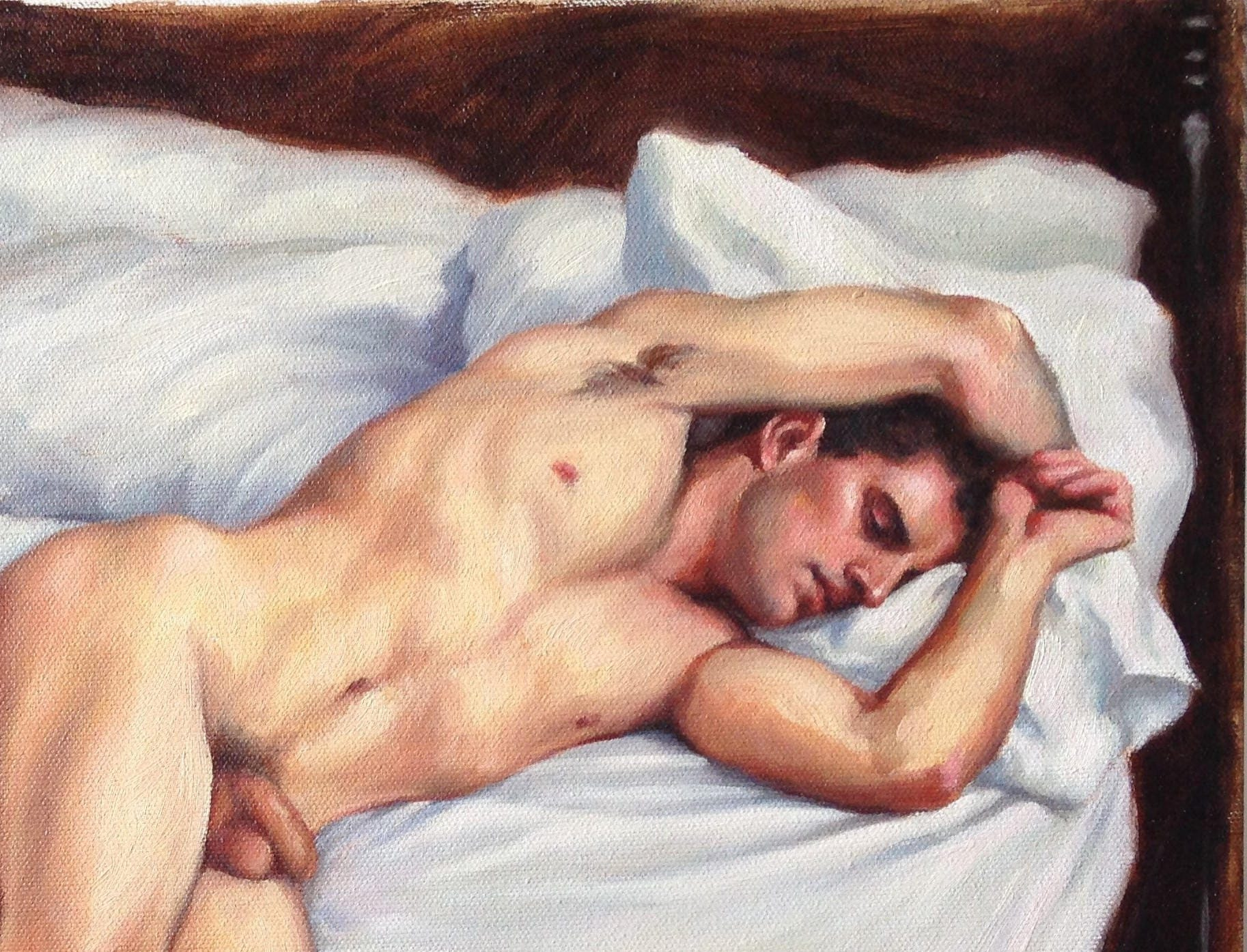 Sleeping Nude Men 87