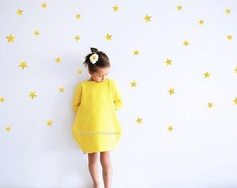 Star Wall Decal, Wall decal, Nursery Star Wall Decal, vinyl wall decal stickers, Room Decor, wall decor sticker, Wall Art, Bedroom Wall art