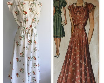 1940's Vintage Reproduction Dress