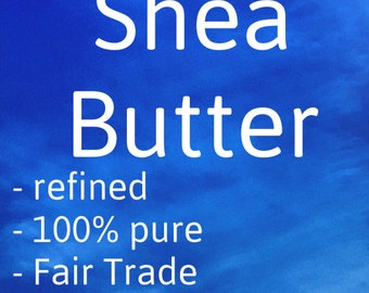 Shea Butter - Pure Ingredient, Refined, Deodorized, Unscented, Sustainably Sourced, Fair Trade, GMO Free - Grown in Ghana - Bulk, Wholesale