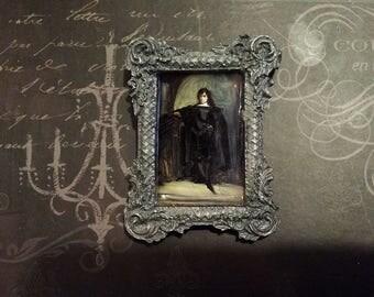 Hamlet Framed Portrait Brooch