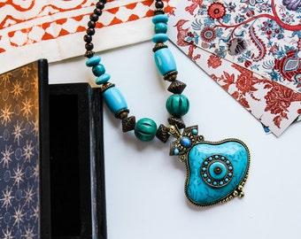 SINGHAAR NECKLACE | boho chic choker bollywood inspired pakistan indian jewellery
