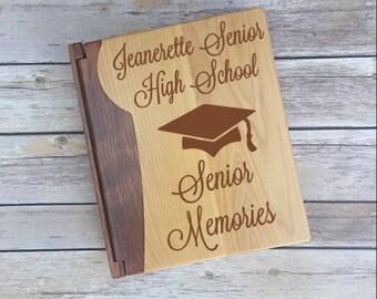 Graduation Photo Album, Gift for Graduate, Senior Memories, Senior 2018, Back to School Gift, Back to School Senior, Senior Gift