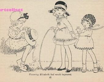 Vintage Children's Book Illustration