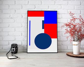 Scandinavian Art Print, Nordic Art Print,  Minimalist Art Print, Abstract Art Print, Scandinavian, Art, Wall Art, Wall Decor, Printable Art