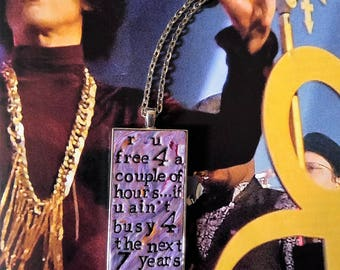 Prince Let's Pretend We're Married Pendant Necklace