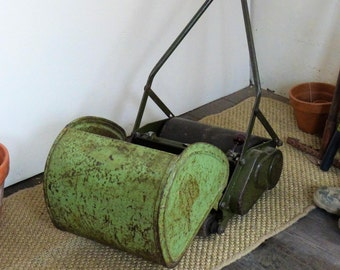 1950's J.P Minor Mk2 Push Lawn Mower - Old Lawn Mower - Retro Lawn Mower - COLLECTION ONLY (Stock #6340)