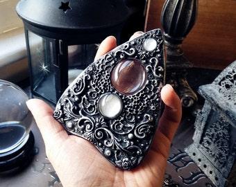 Black and Silver Ouija Board Planchette