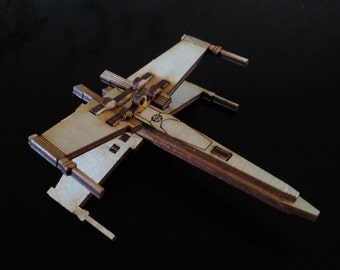 The Force is Strong with this one - Puzzle Star Wars Theme X-Wing