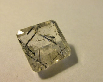 Vintage Reticulated Quartz Gemstone Faceted-Cut Jeweler Quality Ready for Setting
