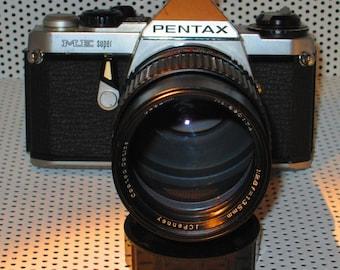 Pentax ME Super with 135mm Portrait Lens