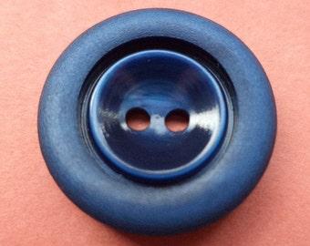 13 dark blue buttons 18mm (4639) button blue