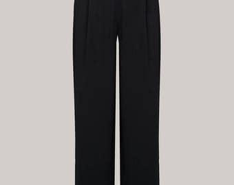 1940's Vintage Inspired 'Audrey' Trousers by The Seamstress of Bloomsbury