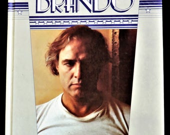 Vintage Book - MARLON BRANDO (An Illustrated Biography) by Alan Frank