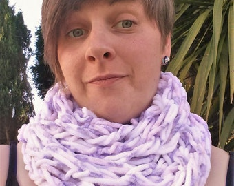 Infinity Knit Scarf - snood