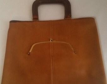 Vintage Coach Handbag/Satchel 1970