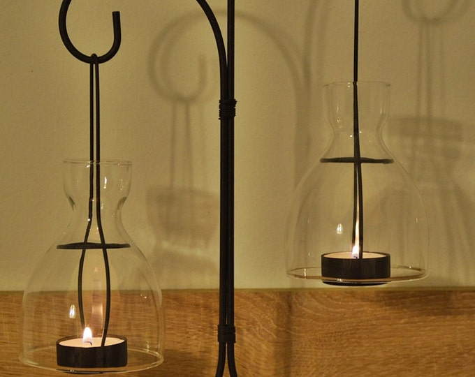 10%OFF Metallic candle holder with lanterns