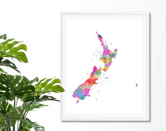 New Zealand Wall Art Etsy