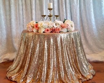 2017 New Antique Gold Sequin Tablecloth, Sparkly Gold Sequin Tablecloth, 2017 New Sequin Tablecloth, Gold Sequin