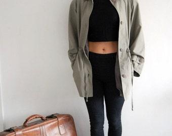 Vintage 90s Grey Jacket UK 12/14