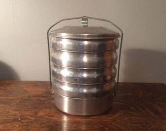 Stacking Aluminum Cookware Picnic Pack - 1950s by Regal