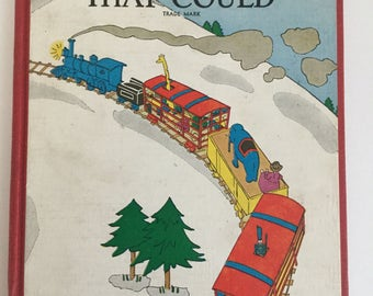 Early vintage 1930 copy of The Little Engine That Could by Watty Piper Illustrations by Lois Lenski